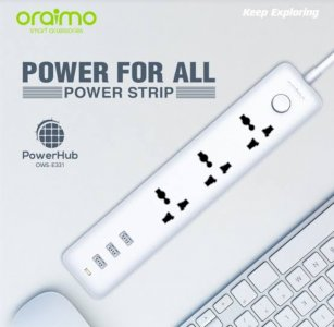 Oraimo Power strip and protective surge