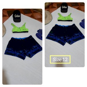 Black & Blue Beach Shorts