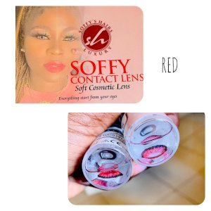 Soffy Contact Lens - Red