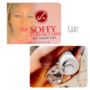 Soffy Contact Lens - Grey