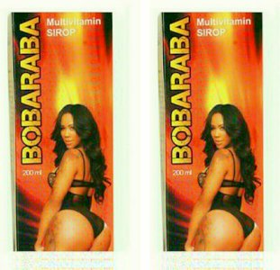 Bobaraba Butt Enlargement Multivitamins Syrup 2 Bottles