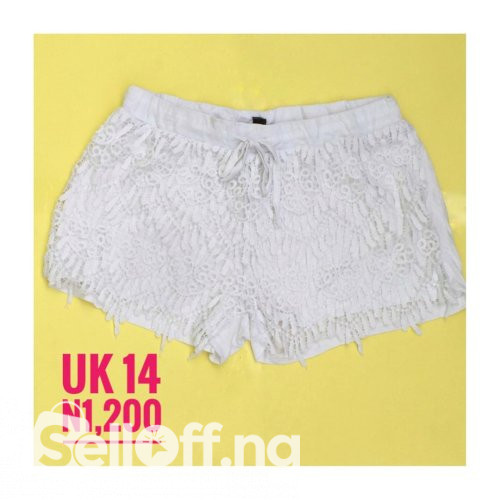 Lace Bum Short