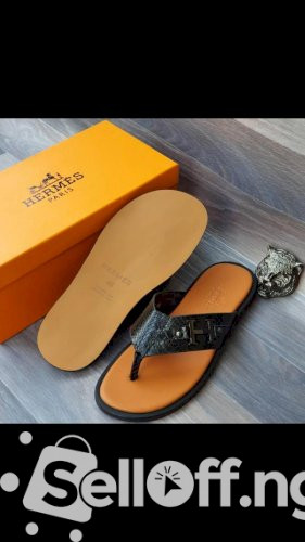 Hermes Men's Luxury Slippers