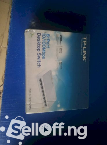 TP-Link 8 Port Desktop switch