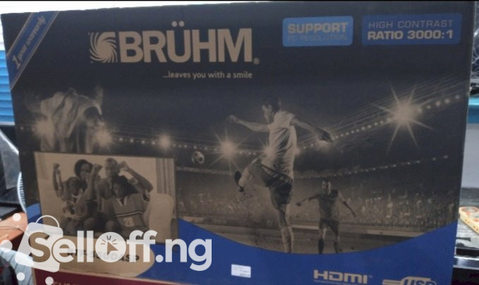 BRUHM 55inch UHD 4k smart TV BTF-55UDASP