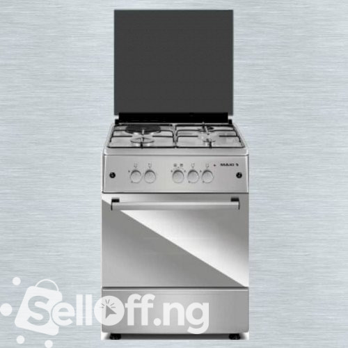 MAXI Gas Cooker 6060 3GAS and 1Electric