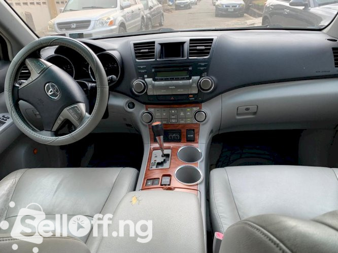Foreign Used 2008 Toyota Highlander