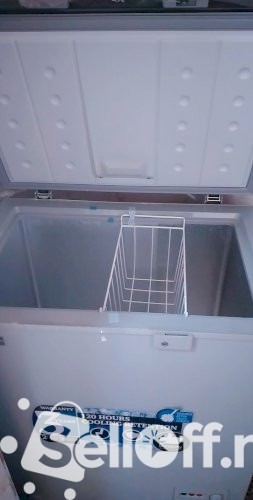 New Scanfrost chest freezer. 151 litres.